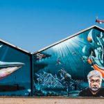 Sea shepherd, the big graff of Shake Well Festival